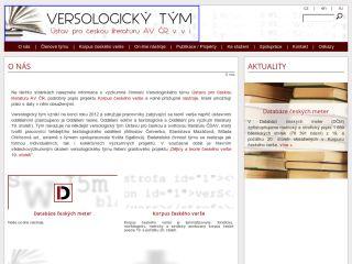 Náhled odkazu http://www.versologie.cz/