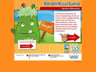 Náhled odkazu http://www.kinderkochland.de/