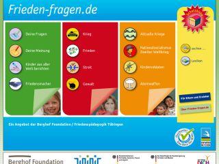 Náhled odkazu https://www.frieden-fragen.de/