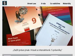 Náhled odkazu http://streetlaw.eu/