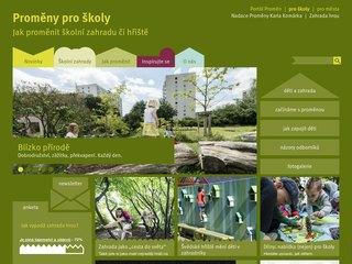 Náhled odkazu http://www.promenyproskoly.cz/