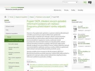 Náhled odkazu http://www.mzp.cz/cz/program_predchazeni_vzniku_odpadu