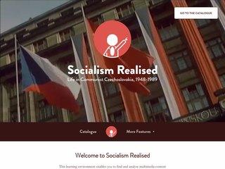 Náhled odkazu https://www.socialismrealised.eu/