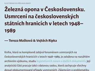 Náhled odkazu http://www.zelezna-opona.cz/