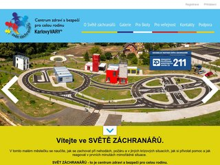 Náhled odkazu http://www.svetzachranaru.cz/