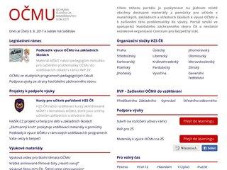 Náhled odkazu http://www.ocmu.cz/