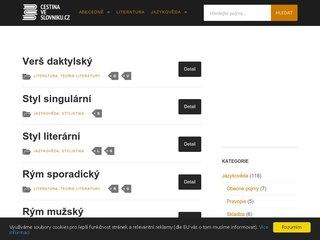 Náhled odkazu https://www.cestinaveslovniku.cz/