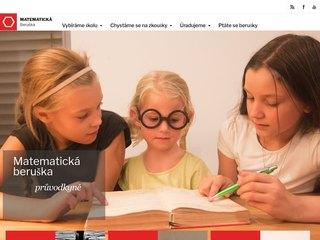 Náhled odkazu http://www.matematickaberuska.cz/