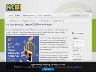 Náhled odkazu http://www.ncbi.cz/index.php
