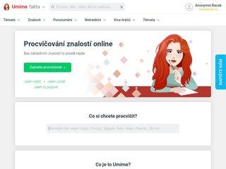 Náhled odkazu https://www.umimefakta.cz/