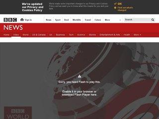 Náhled odkazu https://www.bbc.com/news/av/10462520/one-minute-world-news