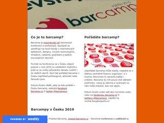 Náhled odkazu http://www.barcamp.cz/