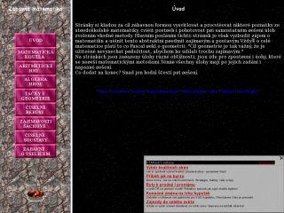 Náhled odkazu http://www.tady.cz/zabavna.matematika/