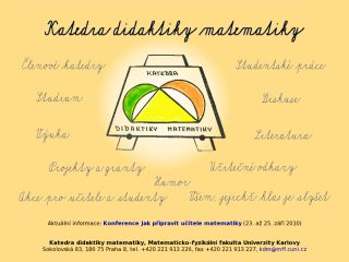 Náhled odkazu http://kdm.karlin.mff.cuni.cz//